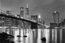 Load image into Gallery viewer, Brooklyn Bridge black & white photograph by Alex Leykin fine art giclée print