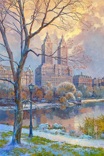 Central Park West by Max Lanchak fine art giclée print on canvas