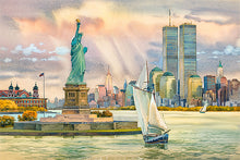 Load image into Gallery viewer, Statue of Liberty by Roustam Nour fine art giclée print