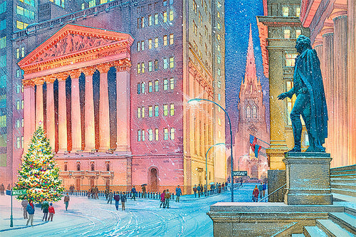 New York Stock Exchange by Roustam Nour fine art giclée print