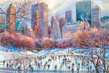 Load image into Gallery viewer, Wollman Rink by Roustam Nour fine art giclée print