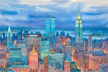 Load image into Gallery viewer, New York Midtown by Roustam Nour fine art giclée print