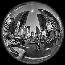 Load image into Gallery viewer, Times Square black & white photograph by Alex Leykin fine art giclée print