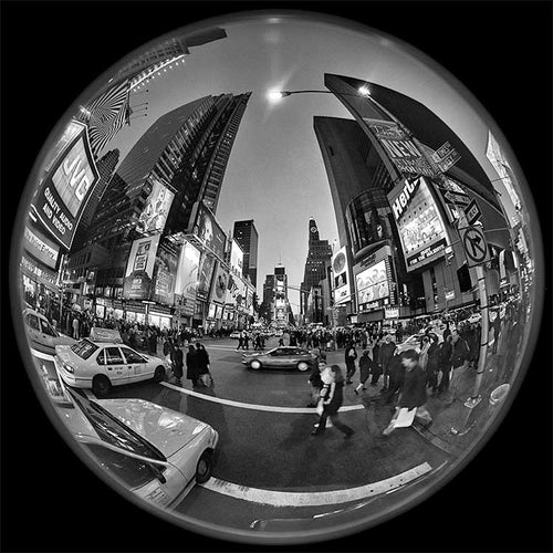 Times Square black & white photograph by Alex Leykin fine art giclée print