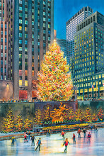 Load image into Gallery viewer, Christmas Tree by Roustam Nour fine art giclée print