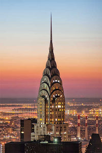 Chrysler Building color photograph by Russel Bach fine art giclée print