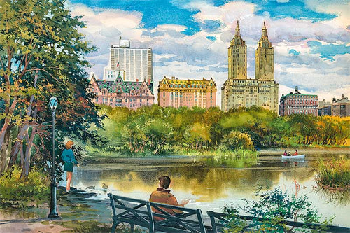 Central Park West by Roustam Nour fine art giclée print