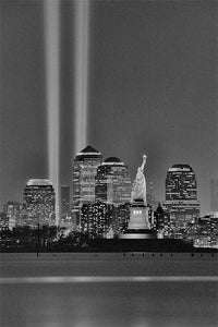 Tribute in Light black & white photograph by Alex Leykin fine art giclée print