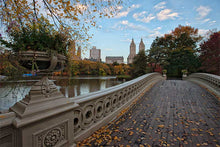 Load image into Gallery viewer, Bow Bridge color photograph by Russel Bach fine art giclée print