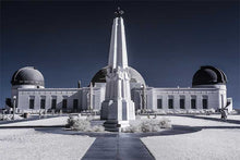 Load image into Gallery viewer, Griffith Observatory infrared photograph by Alex Leykin fine art giclée print