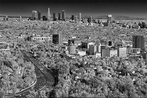 Los Angeles black & white photograph by Alex Leykin fine art giclée print