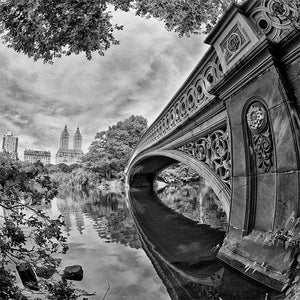 Bow Bridge black & white photograph by Alex Leykin fine art giclée print
