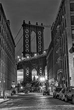 Load image into Gallery viewer, Manhattan Bridge black & white photograph by Russel Bach fine art giclée print