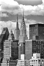 Load image into Gallery viewer, New York Midtown black & white photograph by Alex Leykin fine art giclée print