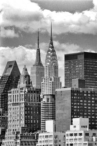 New York Midtown black & white photograph by Alex Leykin fine art giclée print
