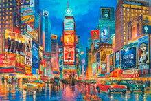 Load image into Gallery viewer, Times Square by Max Lanchak fine art giclée print on canvas