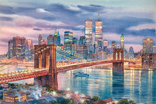 Load image into Gallery viewer, Brooklyn Bridge by Roustam Nour fine art giclée print