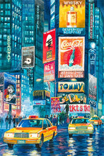 Load image into Gallery viewer, Times Square by Roustam Nour fine art giclée print