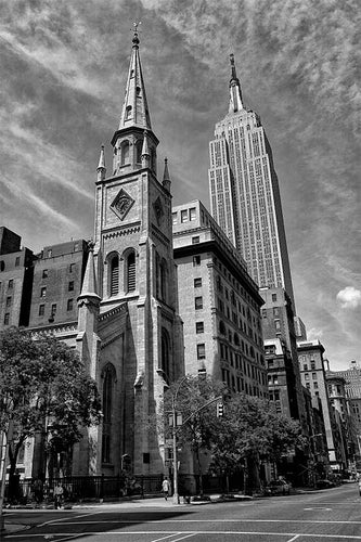 Empire State Building black & white photograph by Alex Leykin fine art giclée print