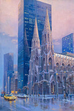 Load image into Gallery viewer, St. Patrick's Cathedral by Max Lanchak fine art giclée print on canvas