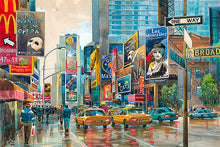 Load image into Gallery viewer, Broadway by Roustam Nour fine art giclée print
