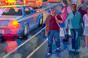 Times Square by Nataly Shootkin artwork details
