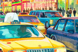 Times Square by Roustam Nour artwork details