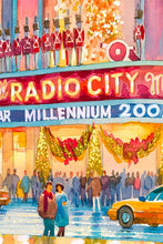 Load image into Gallery viewer, Radio City by Roustam Nour artwork details