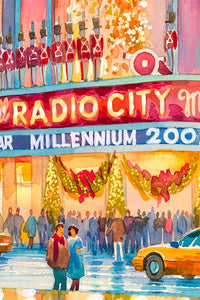 Radio City by Roustam Nour artwork details