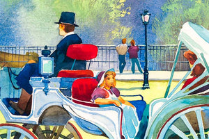Spring in Central Park by Roustam Nour artwork details