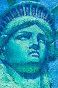 Statue of Liberty by Max Lanchak artwork details