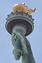 Load image into Gallery viewer, Lady Liberty color photograph by Russel Bach artwork details