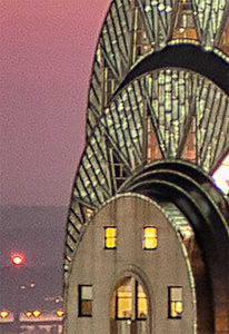 Chrysler Building color photograph by Russel Bach artwork details