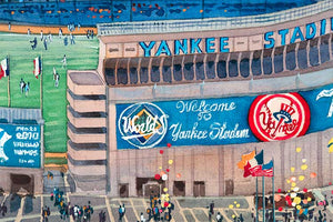 Yankee Stadium by Roustam Nour artwork details
