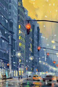 Flatiron Building by Nataly Shootkin artwork details