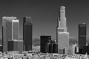Los Angeles black & white photograph by Alex Leykin artwork details