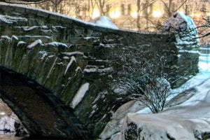 Gapstow Bridge color photograph by Russel Bach artwork details