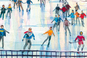Wollman Rink by Roustam Nour artwork details