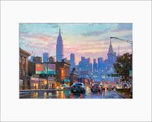 Load image into Gallery viewer, Queens by Max Lanchak matted artwork