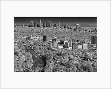 Load image into Gallery viewer, Los Angeles black & white photograph by Alex Leykin matted artwork