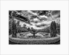 Load image into Gallery viewer, Greystone mansion infrared photograph by Alex Leykin matted artwork
