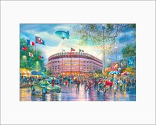 Load image into Gallery viewer, Yankee Stadium by Roustam Nour matted artwork