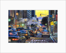 Load image into Gallery viewer, New York Streets by Max Lanchak matted artwork