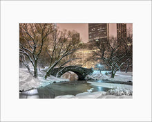 Load image into Gallery viewer, Gapstow Bridge color photograph by Russel Bach matted artwork