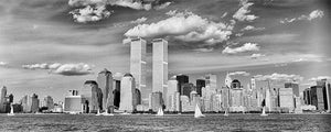 New York Skyline panoramic black & white photograph by Alex Leykin fine art giclée print