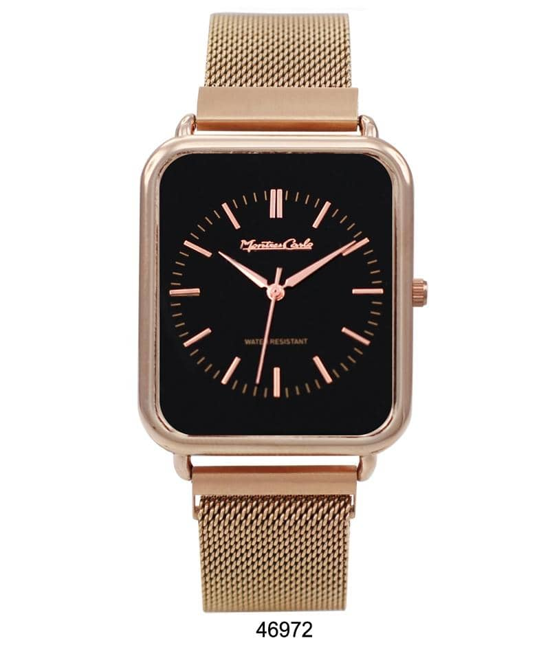 4697 - Magnetic Mesh Band Watch