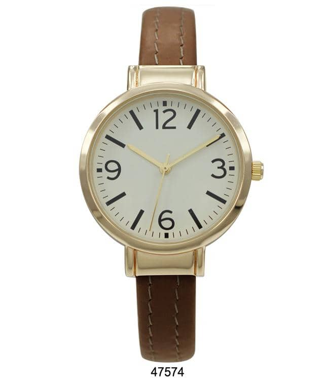 4757 - Leather Cuff Watch