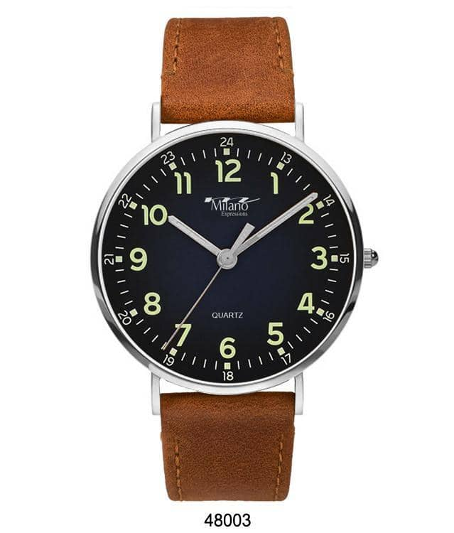 4800 - Vegan Leather Band Watch