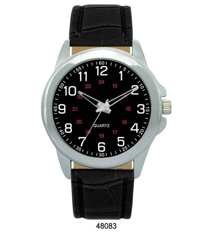 4808 - Vegan Leather Band Watch