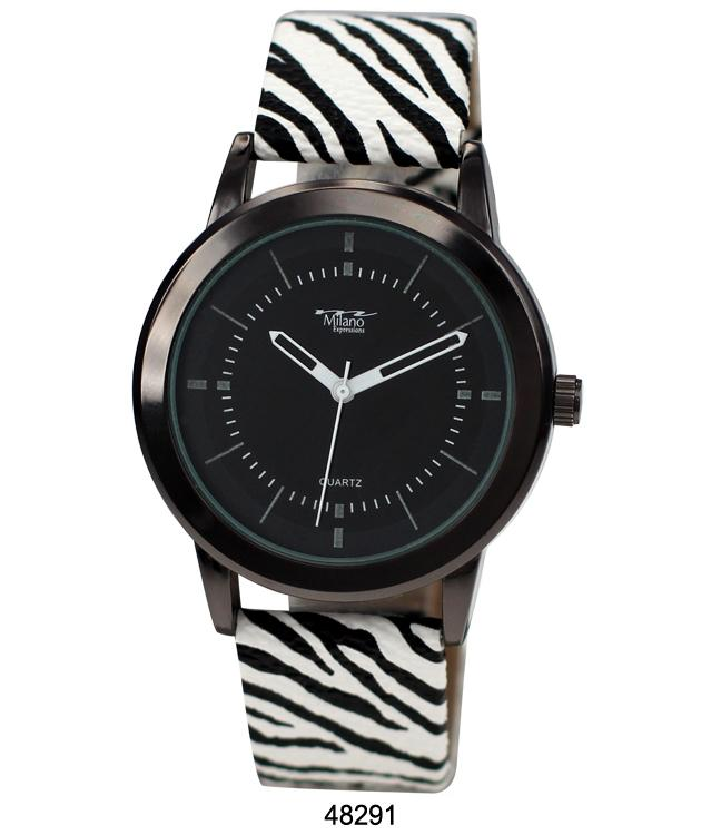 4829 - Vegan Leather Band Watch